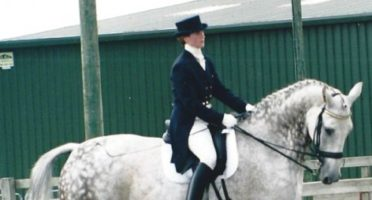 Anne Jones Prix St George dressage
