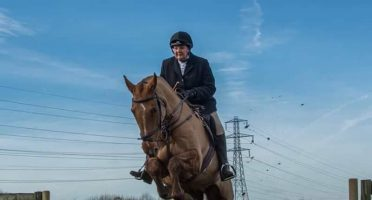 Nic Davis Autism riding instructor at rein and shine