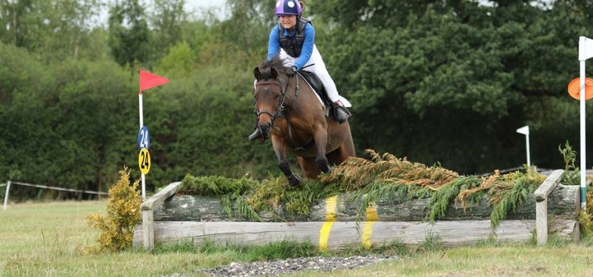 Cross Country riding in Hoof Club Jump Team