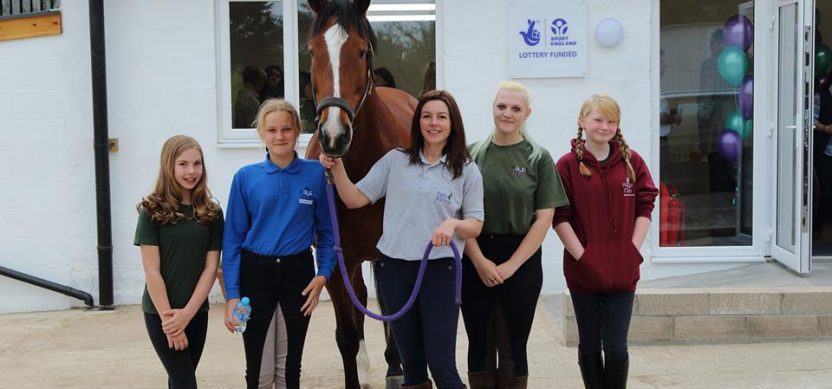 Lottery funded Hoof Club CIC