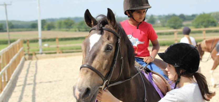 wiltshire horse party for children