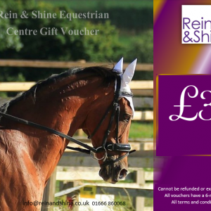 Horse riding lesson gift voucher