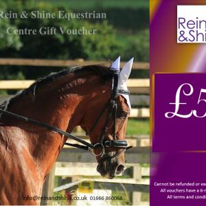 £50 gift voucher horse riding